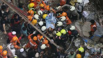 Çöken binada can kaybı 14'e çıktı