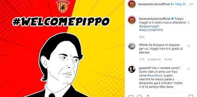 Benevento'da Filippo Inzaghi dönemi