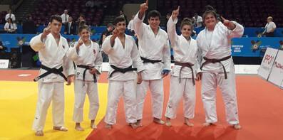 Judocu milliler, Avrupa şampiyonu oldu!