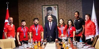 Kasapoğlu: Amacımız Türkiye'nin bir spor ülkesi olması