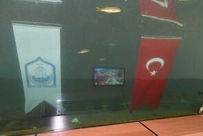 Türkiye'de bir ilk! Su altında segileniyor...