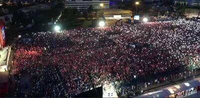 İstanbul'da tarihi gün! Gözyaşları sel oldu