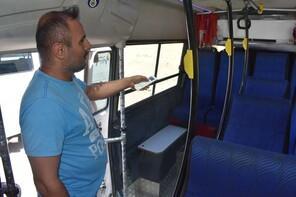 Yolcu minibüsünün içini gören şaşkına dönüyor! 'İnsan inmek istemiyor'