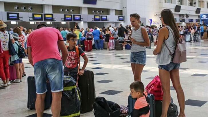 Antalya'da tüm zamanların turist rekoru