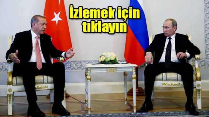 Erdoğan ve Putin müjdeleri peş peşe verdi