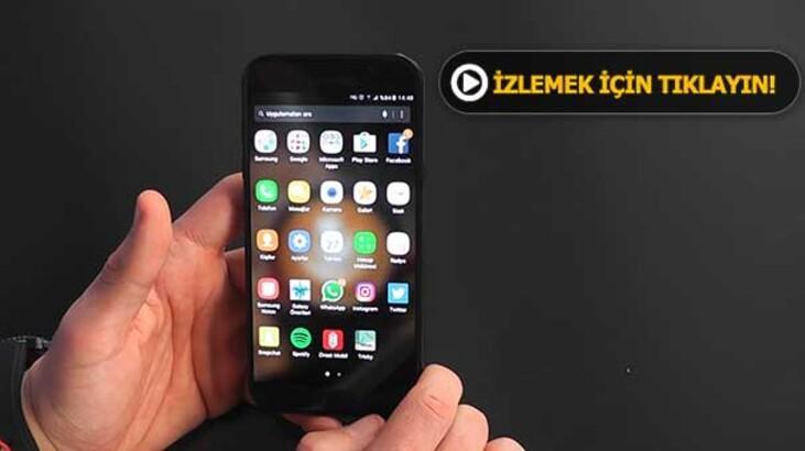 Samsung'dan kullanım alışkanlıklarını değiştirecek bir telefon geliyor gibi...