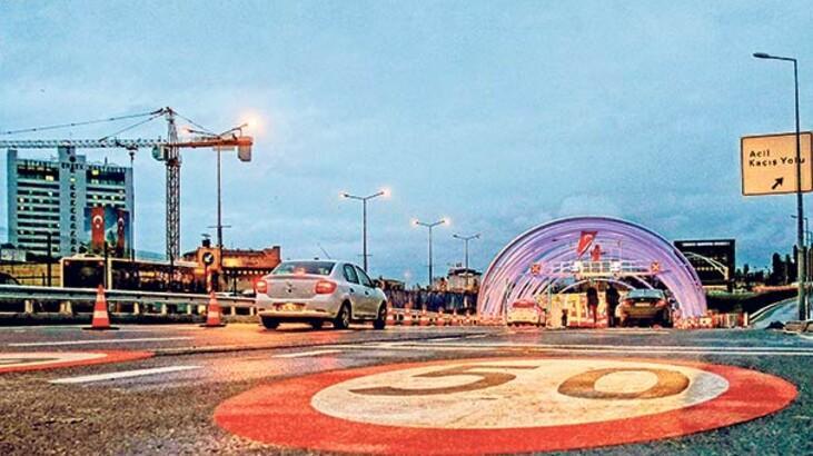 Servisçiler Avrasya  Tüneli'nden geçecek