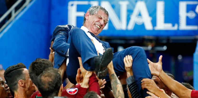 Fernando Santos'un sözleşmesi uzatıldı!