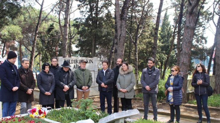 Attila Özdemiroğlu kabri başında anıldı