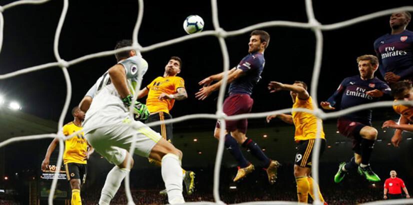 Wolverhampton-Arsenal: 3-1