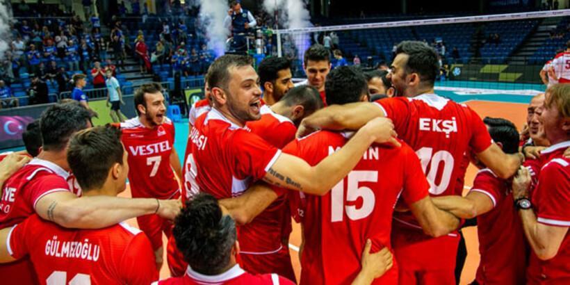 FIVB Challenger Kupası'nda Türkiye'nin rakipleri belli oldu