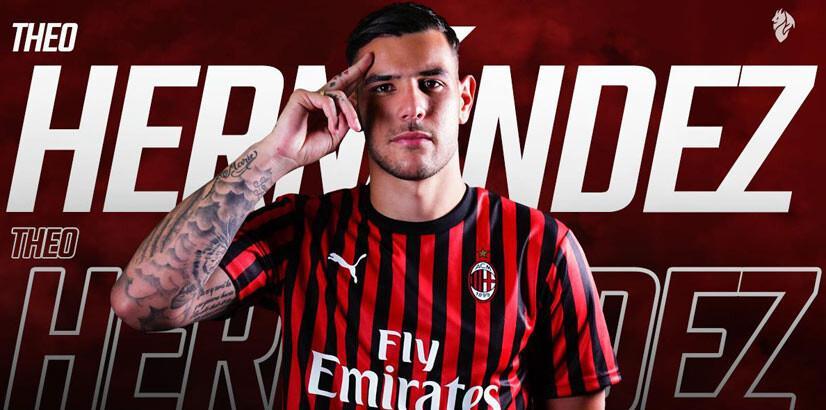 Milan, Theo Hernandez'i renklerine bağladı