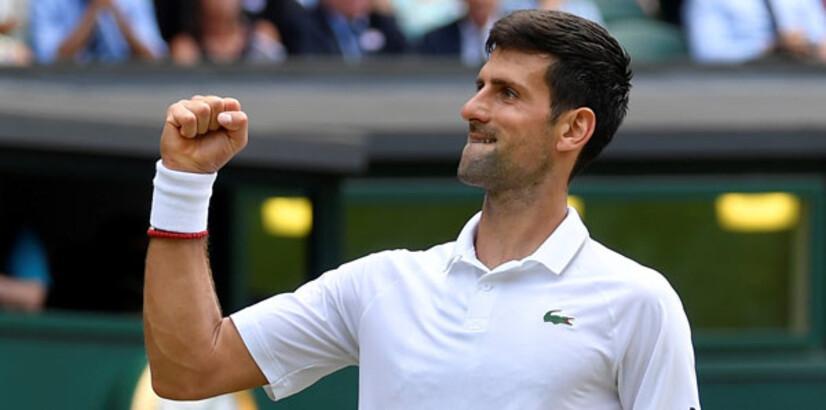Djokovic yolu yarıladı: 3-0