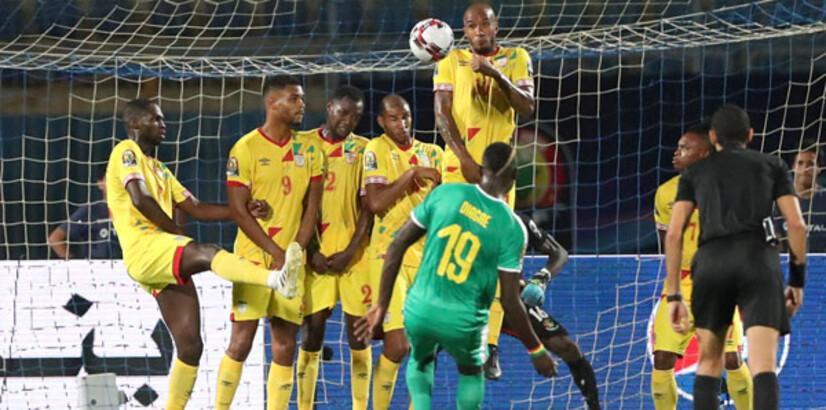 Diagne'li Senegal, Benin'i devirdi, yarı finale çıktı: 1-0