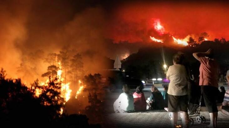 Muğla'da korkutan yangın! Vali Civelek'ten flaş açıklama...