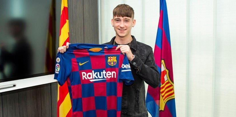 Barcelona'ya 16'lık genç yetenek
