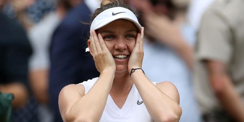 Serena Williams'ı deviren Simona Halep şampiyon!