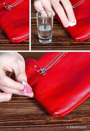 Çantadan mürekkep lekesi nasıl çıkar?