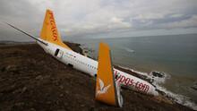 Trabzon'da pistten çıkan uçağı belediye istiyor! Bakın ne yapacak