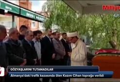 Türk genci Kazım Cihan, son yolculuğuna uğurlandı