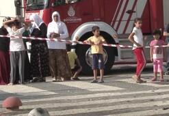 Son dakika: İstanbulda bu sabah Koşarak sokağa fırladılar...
