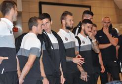 Beşiktaşın rakibi Partizan, İstanbula geldi