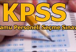 KPSS lisans giriş yerleri sorgulama KPSS ortaöğretim sınavı ne zaman