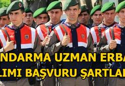 Jandarma Uzman Erbaş alımı başvuruları başladı Başvuru şartları nelerdir