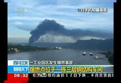 Çinde patlama Çok sayıda ölü ve yaralı var