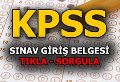 KPSS giriş yerleri açıklandı 2018 KPSS lisans sınav giriş yeri sorgulama