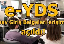 e-YDS sınav giriş belgeleri açıklandı