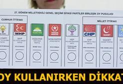 Oy nasıl kullanılır (24 Haziran 2018) Oy kullanırken bunlara dikkat