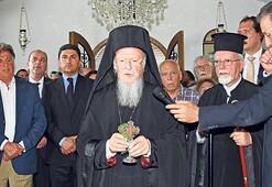 Tarihi Aya Konstantin Manastırı'nda ayin