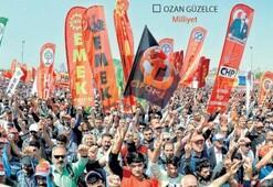 1 Mayıs Emek ve Dayanışma Günü için Maltepede miting... Türkülü halaylı kutlama