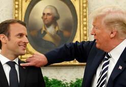 Macron: Trump nükleer anlaşmadan çekilecek