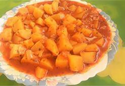 Lokum kıvamında bir patates yemeği tarifi
