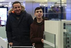 Dünyanın konuştuğu Filistinli Cuneydi Türkiyeye geldi