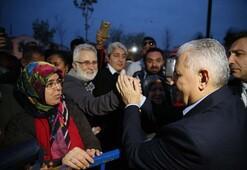 Başbakan Yıldırımdan CHPli aileyi ziyaret