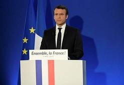 Son Dakika: Macron, Fransanın yeni cumhurbaşkanı oldu