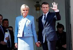 Son Dakika... Fransada büyük gün Macron cumhurbaşkanlığını devraldı