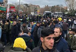 Fenerbahçe taraftarı Vodafone Parkta