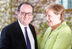 Hollandedan Merkele veda ziyareti