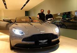 Nevzat Aydın, Aston Martın DB11ine kavuştu