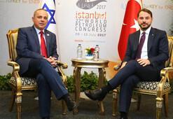 Albayrak ve Steinitz bir araya geldi... Doğu Akdeniz için enerjik görüşme