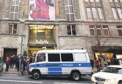 Berlin'in göbeğinde silahlı soygun