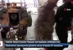 Terör örgütü PKKnın finans kaynağına operasyonda 5 tutuklama