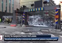 İsveçin başkenti Stockholmde patlama
