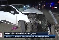 Zonguldakta feci kaza