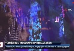 Türkiye'nin en uzun 10'nuncu mağarası
