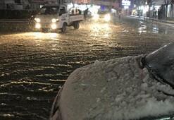 Son Dakika... Meteoroloji uyarı yapmıştı Trakyada eğitime kar engeli